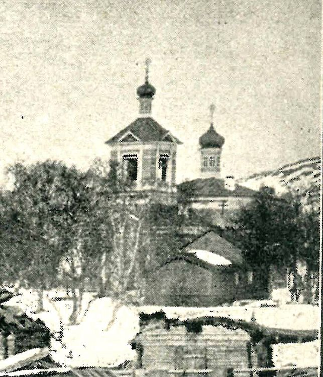 Церковь Бориса и Глеба (новая), Борисоглебский (Пазрека, Пазрецкий погост)