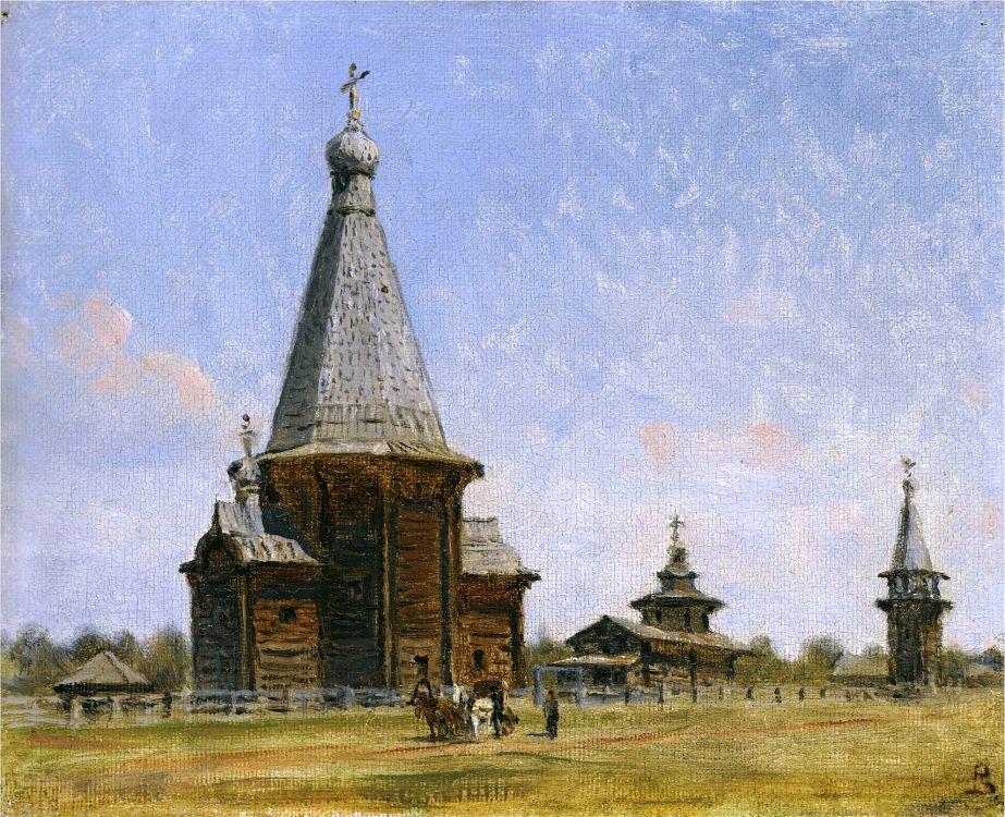 Церковь Владимирской Иконы Божией Матери в Белой Слуде, Большая Слудка