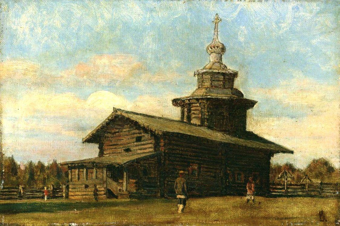 Церковь Афанасия Александрийского в Белой Слуде, Большая Слудка