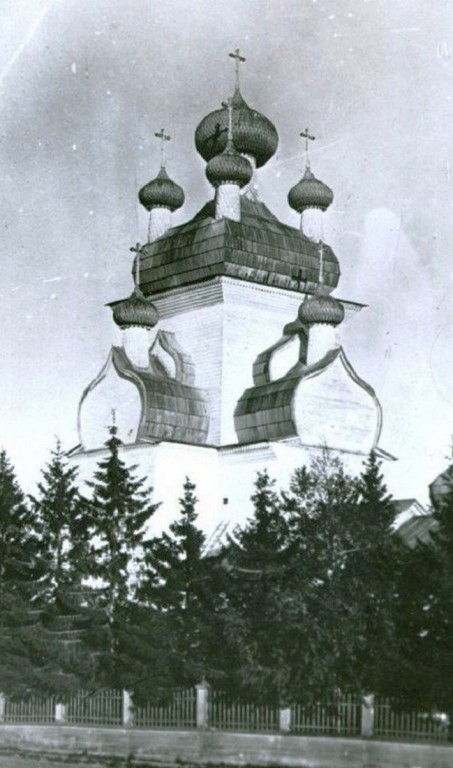 Церковь Спаса Преображения, Чекуево