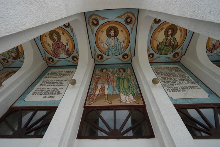 Церковь Михаила и Гавриила Архангелов, Албешть