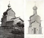 Церковь Троицы Живоначальной - Елгомская Пустынь, урочище - Няндомский район - Архангельская область