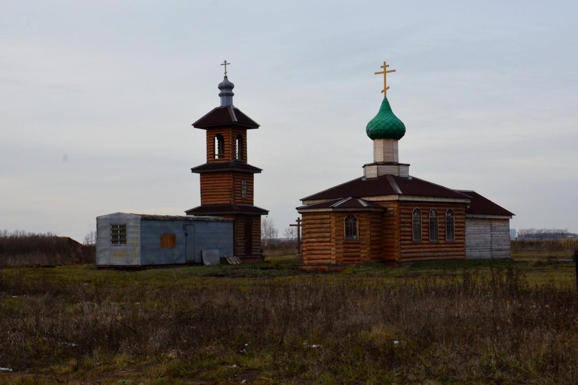 Брянская область, Брянск, город, Брянск. Церковь Петра и Февронии, фотография. общий вид в ландшафте