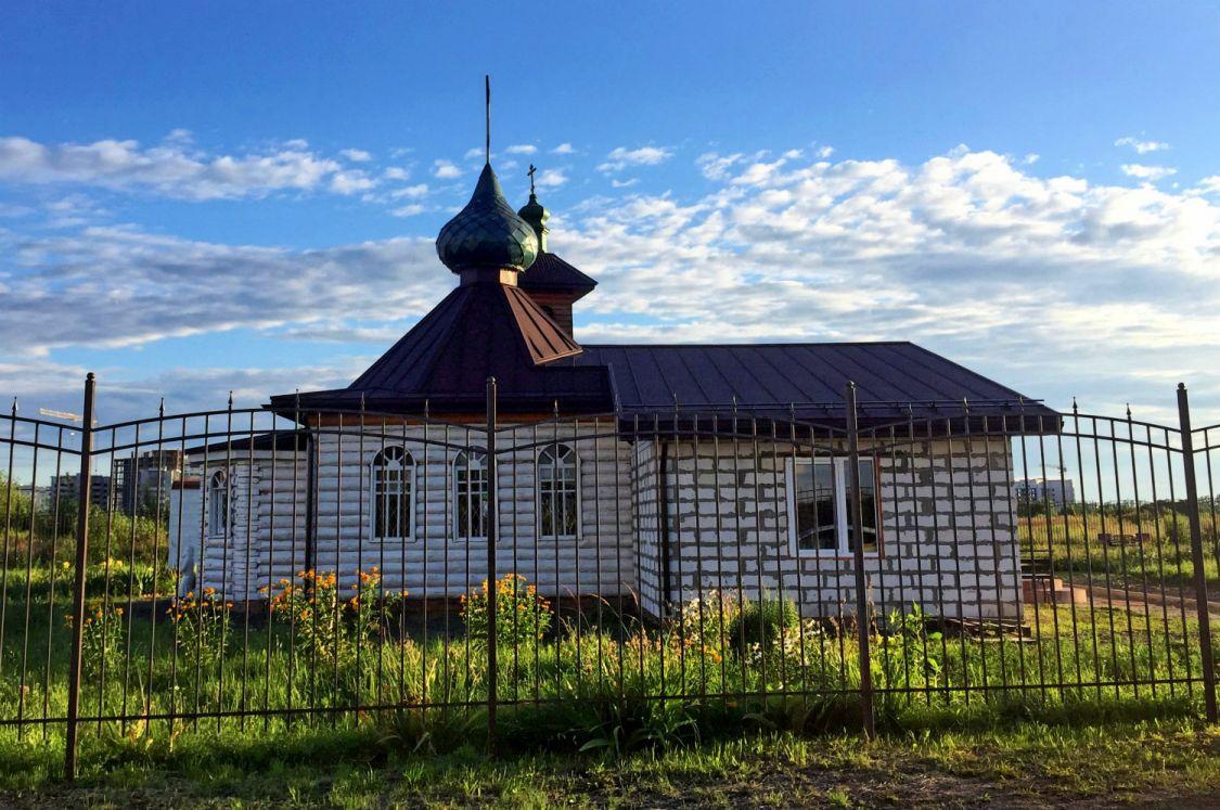 Брянская область, Брянск, город, Брянск. Церковь Петра и Февронии, фотография. фасады
