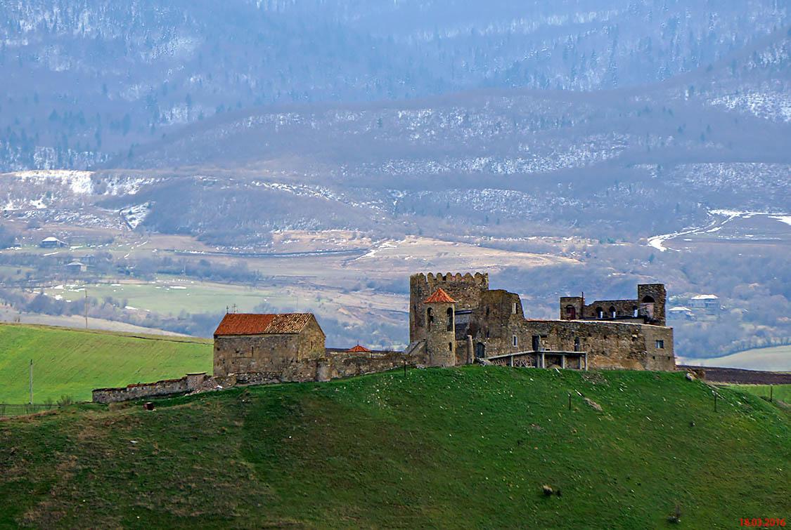 Грузия, Шида-Картли, Самцериси. Архангельский монастырь, фотография.