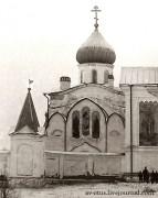Введено-Оятский женский монастырь. Церковь Богоявления Господня - Оять - Лодейнопольский район - Ленинградская область