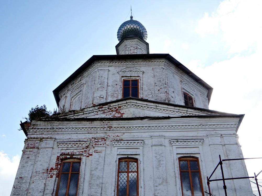 Церковь Спаса Нерукотворного Образа, Новосёлки