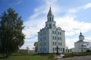 Коряжемский Николаевский монастырь. Колокольня - Коряжма - Коряжма, город - Архангельская область