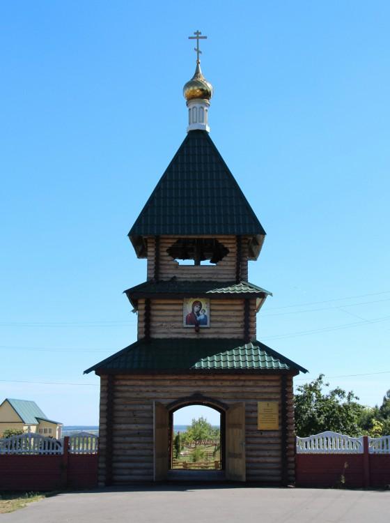 Казанская Алексиево-Сергиевская пустынь. Колокольня, Сазанье