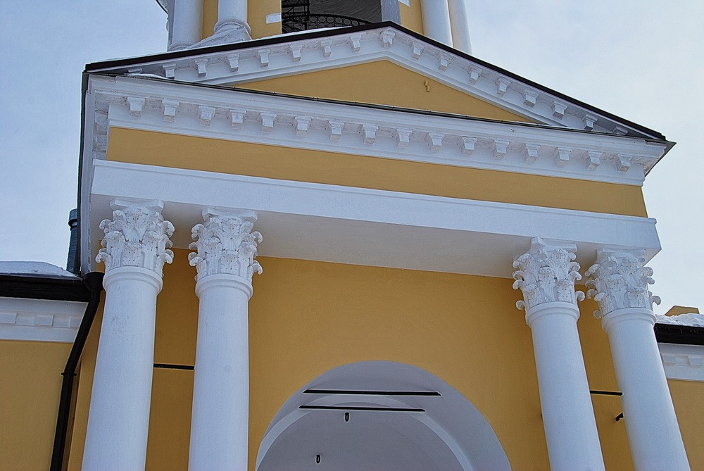 Спасо-Преображенский монастырь. Колокольня, Белёв