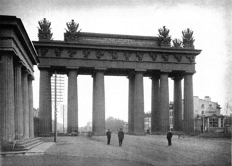 Часовня в память бракосочетания великой княгини Ольги Александровны у Московских ворот, Санкт-Петербург