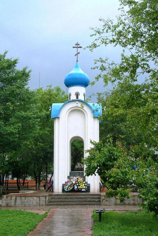 Волгоградская область, Фроловский район и г. Фролово, Фролово. Неизвестная часовня, фотография. фасады