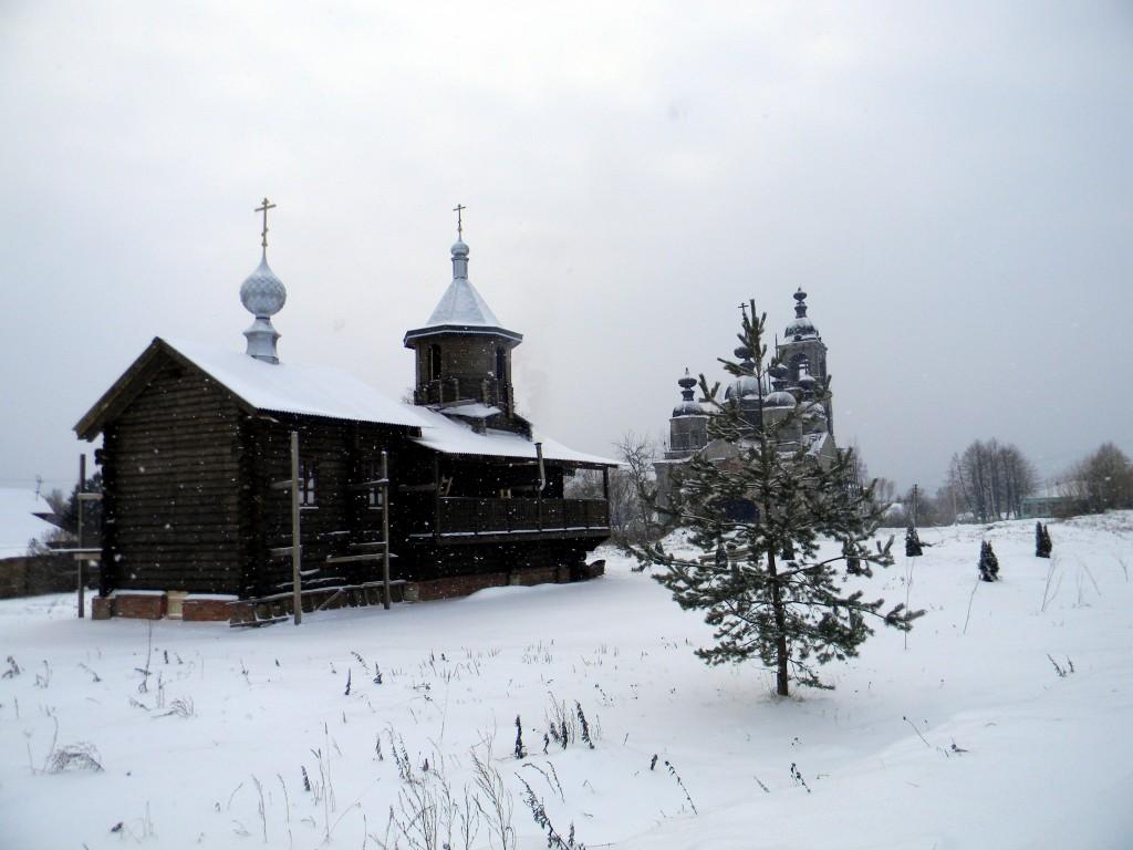 Церковь Спаса Преображения-Шилекша-Кинешемский район-Ивановская область
