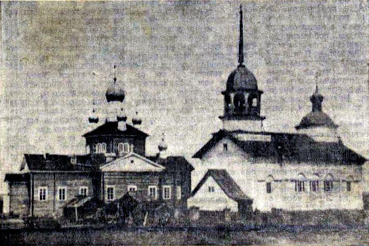 Церковь Троицы Живоначальной, Церковное (Бархатиха)