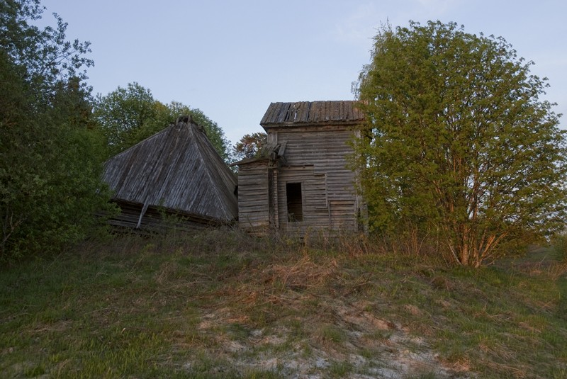 Церковь Георгия Победоносца, Слобода, урочище