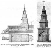 Церковь Афанасия, патриарха Александрийского - Верхнекокшенгский Погост - Тарногский район - Вологодская область