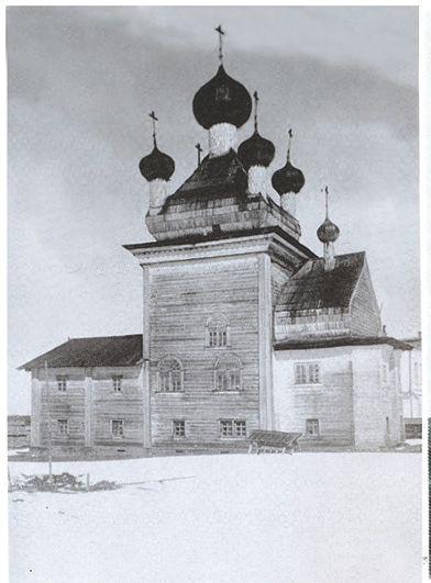 Церковь Троицы Живоначальной, Пабережский погост (Фалёво)