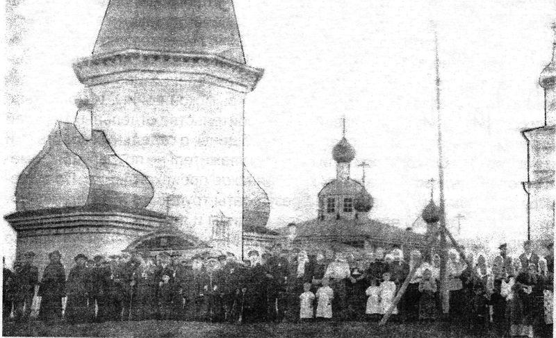 Церковь Рождества Христова, Погост (Усть-Моша)