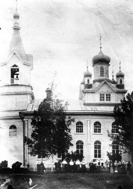 Яранский Знаменско-Мариинский женский монастырь. Церковь иконы Божией Матери