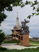Церковь Александра Невского - Большеречье - Большереченский район - Омская область