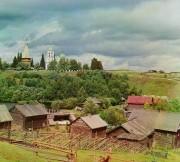 Пидьма. Спаса Преображения (деревянная), церковь