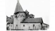 Деревянное. Николая Чудотворца на Деревянском погосте, церковь