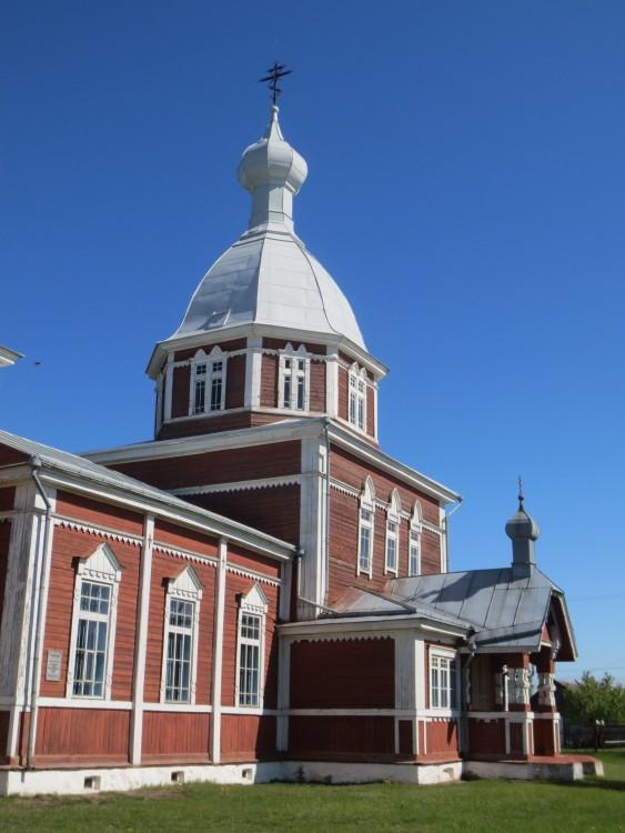 Церковь Петра и Павла, Остров
