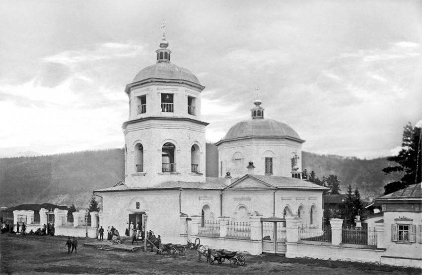 Церковь Спаса Нерукотворного Образа, Киренск
