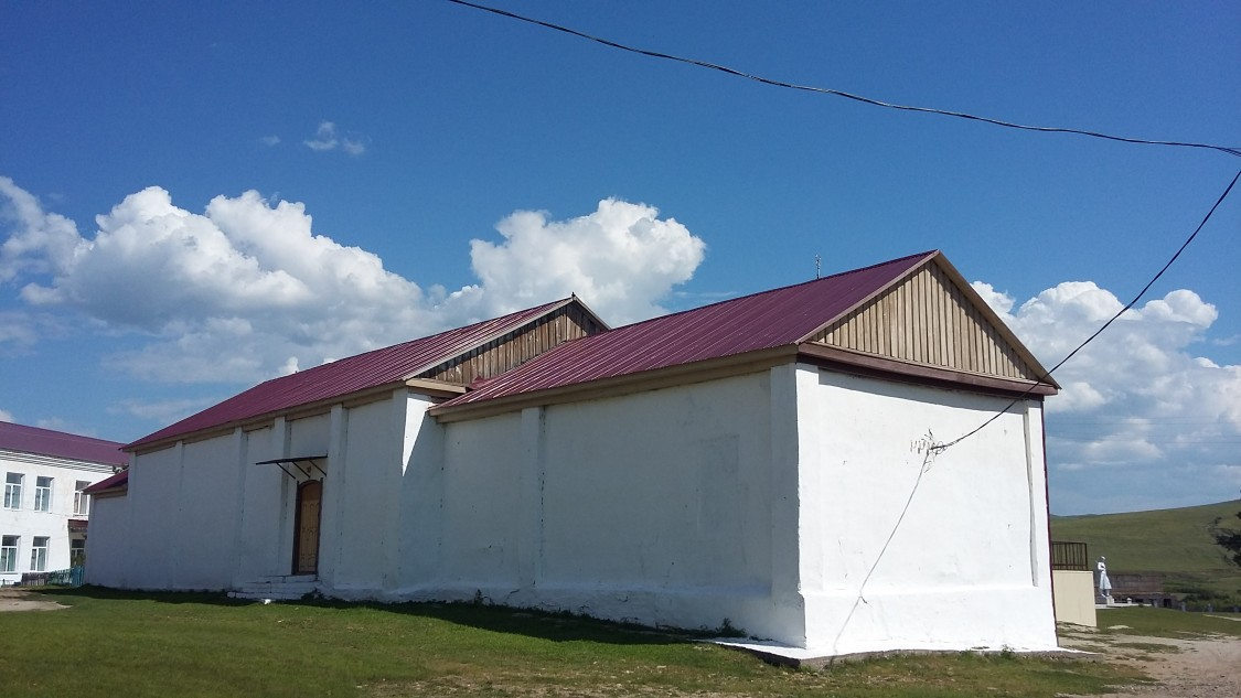 Забайкальский край, Балейский район, Ундино-Поселье. Церковь Покрова Пресвятой Богородицы, фотография. фасады