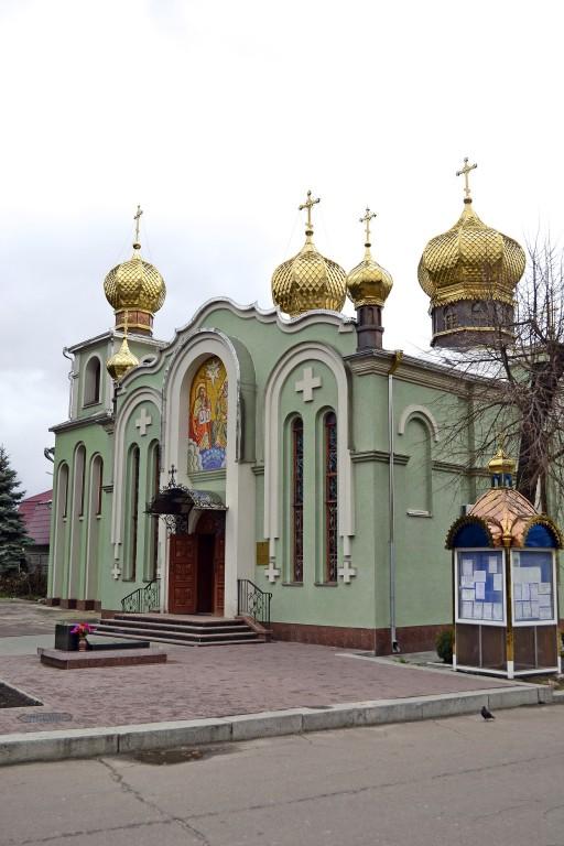 Украина, Черкасская область, Черкасский район, Черкассы. Собор Троицы Живоначальной, фотография. фасады