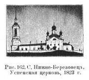 Церковь Успения Пресвятой Богородицы - Нижний Березовец, урочище - Солигаличский район - Костромская область