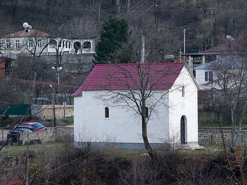 Неизвестная церковь, Вардгинети