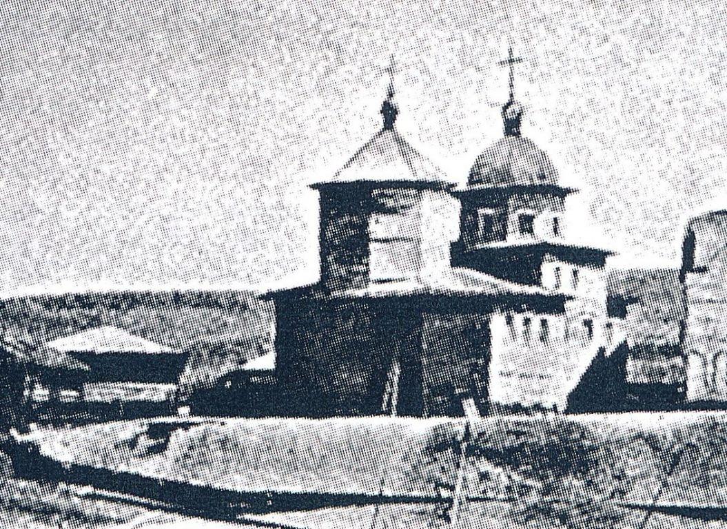 Церковь Вознесения Господня (деревянная), Качуг