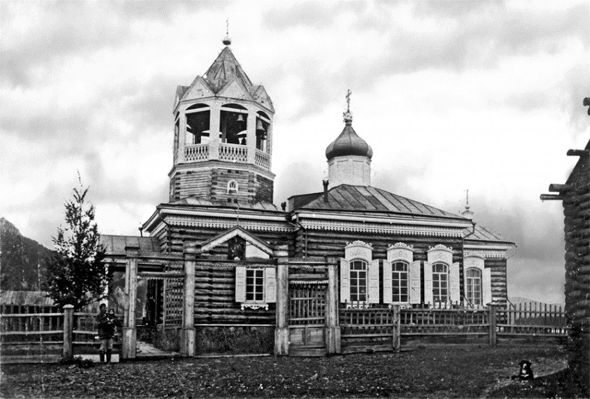 Церковь Николая Чудотворца, Большой Пеледуй, урочище