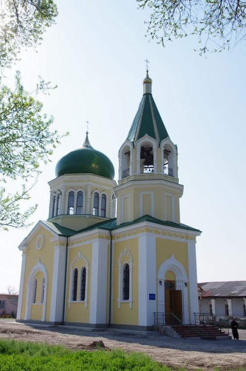 Украина, Одесская область, Измаильский район, Измаил. Церковь Николая Чудотворца, фотография. фасады