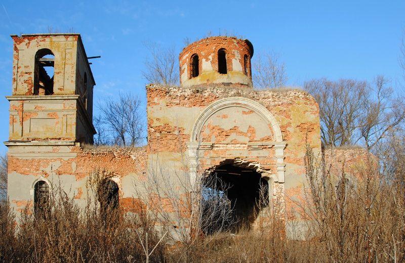 Церковь Казанской иконы Божией Матери, Луговое
