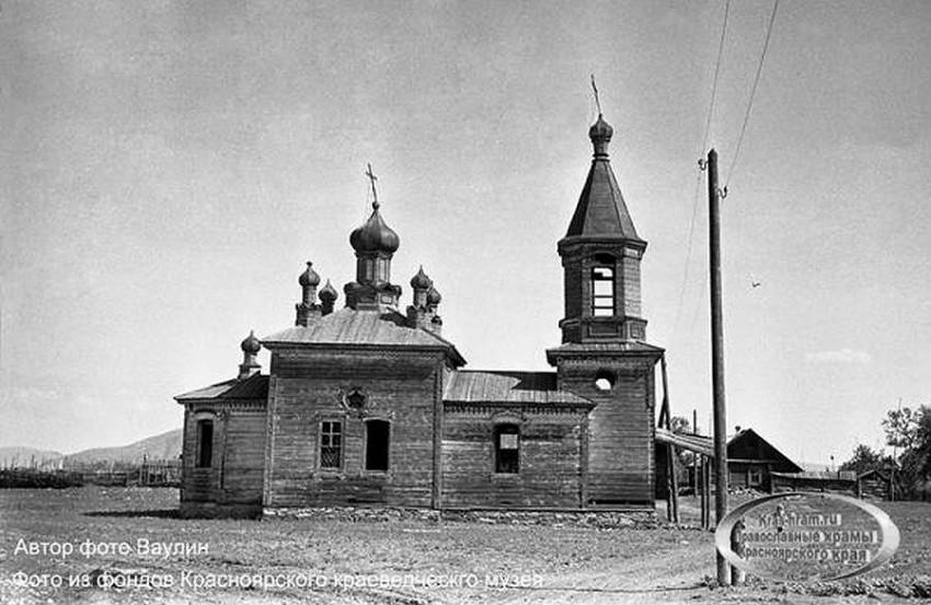 Церковь Петра и Павла, Потрошилово (акватория Красноярского водохранилища)