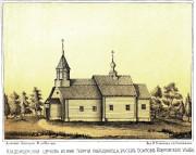 Церковь Георгия Победоносца на кладбище - Осипово - Ковровский район и г. Ковров - Владимирская область