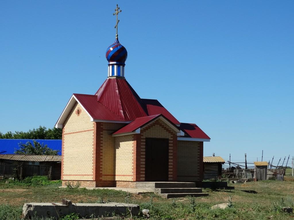 Оренбургская область, Саракташский район, Студенцы. Неизвестная часовня, фотография. фасады