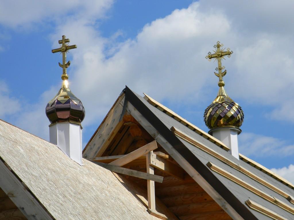 Ивановская область, Заволжский район, Жажлево. Церковь иконы Божией Матери