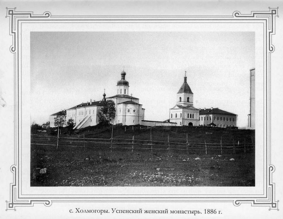 Успенский Холмогорский женский монастырь, Холмогоры