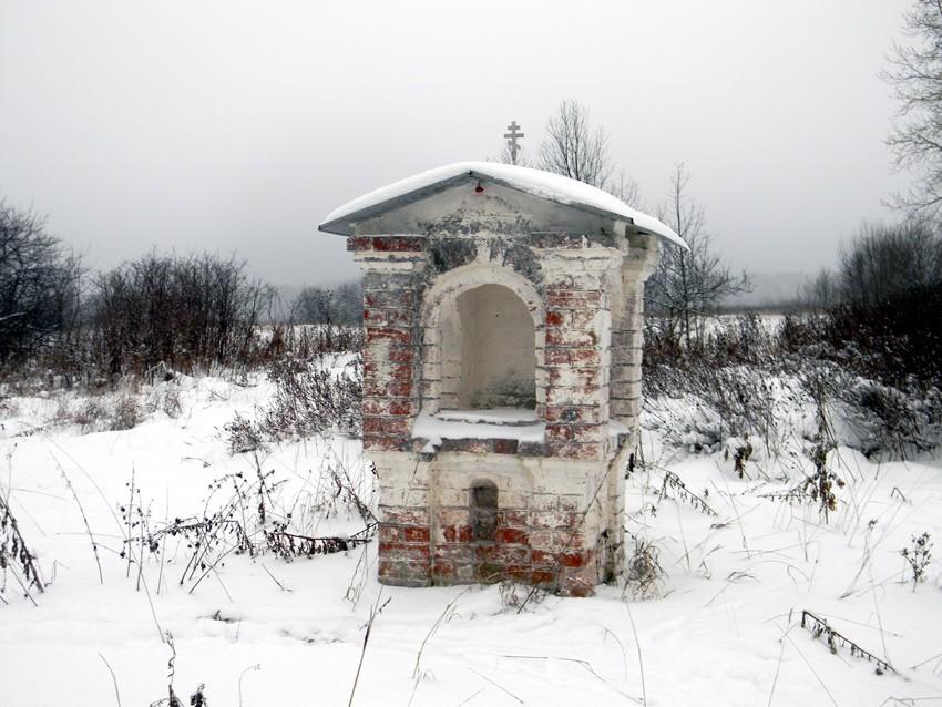 Ивановская область, Вичугский район, Бортиха. Неизвестная часовня, фотография. фасады