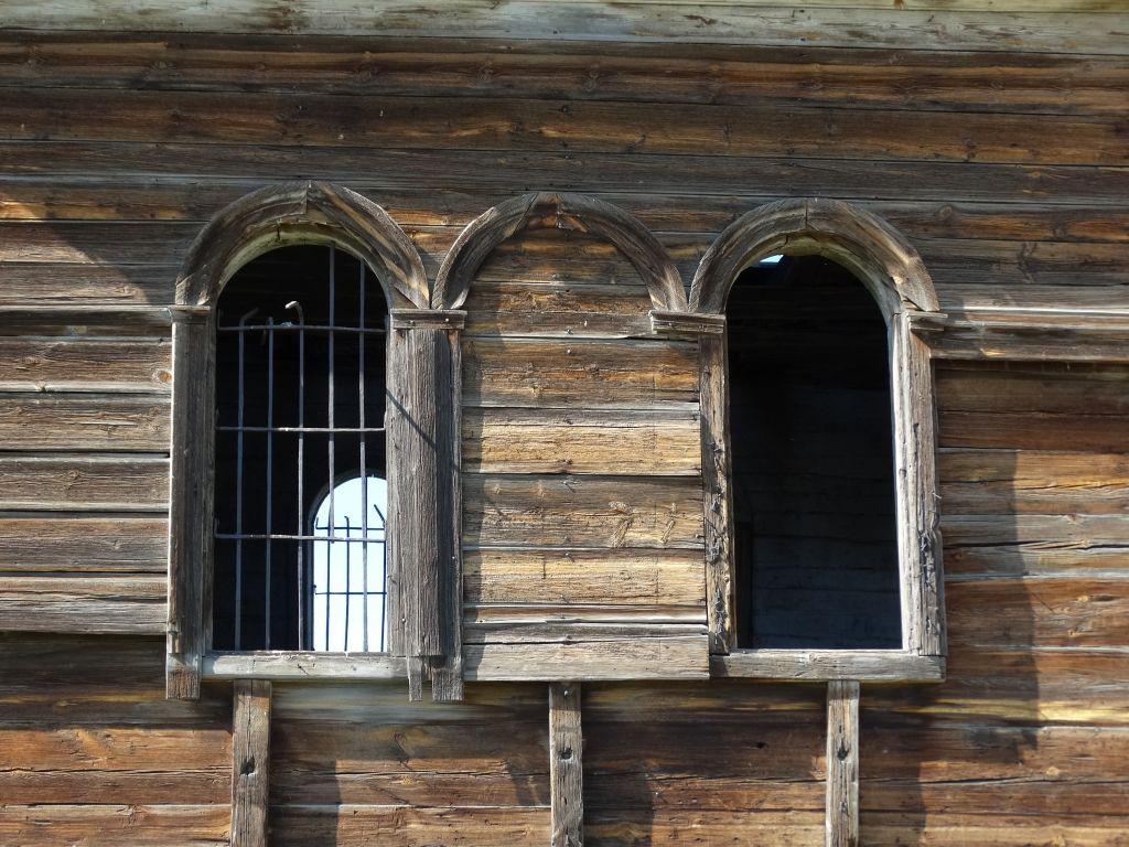 Оренбургская область, Кувандыкский район, Подгорное. Церковь Покрова Пресвятой Богородицы, фотография. архитектурные детали