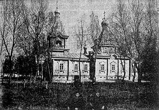 Церковь Николая Чудотворца военно-местная, Бахты