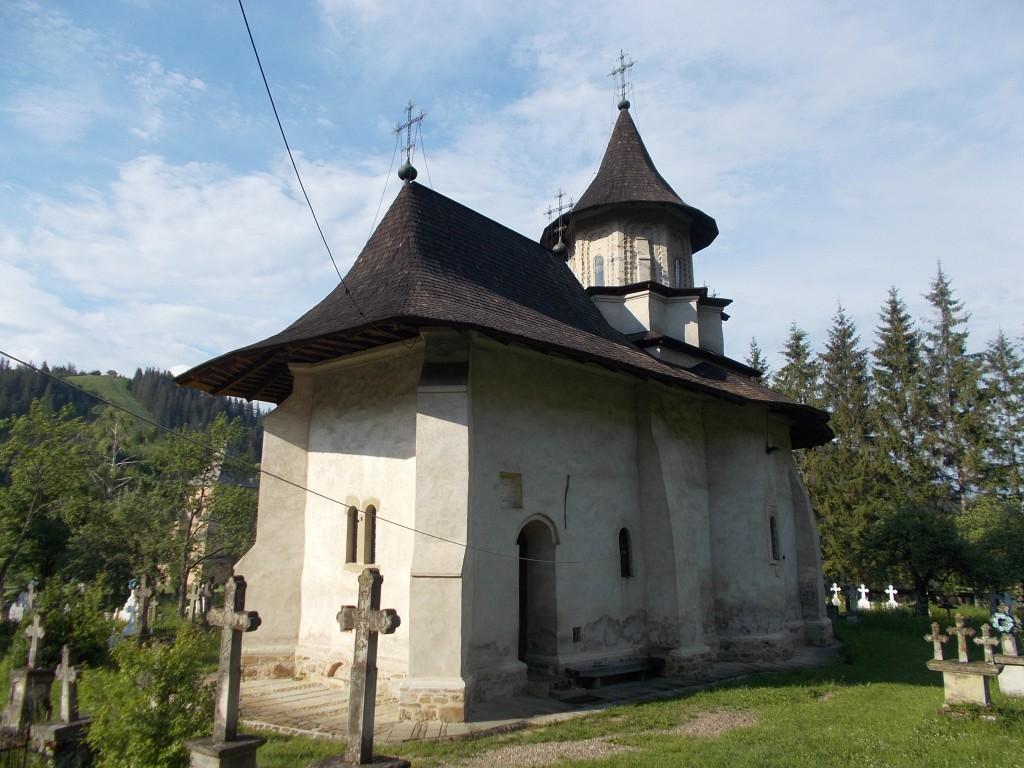 Румыния, Сучава, Сучевица. Церковь Богоявления Господня, фотография. фасады
