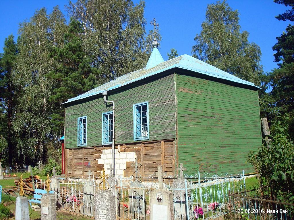Церковь Воздвижения Креста Господня, Забелье
