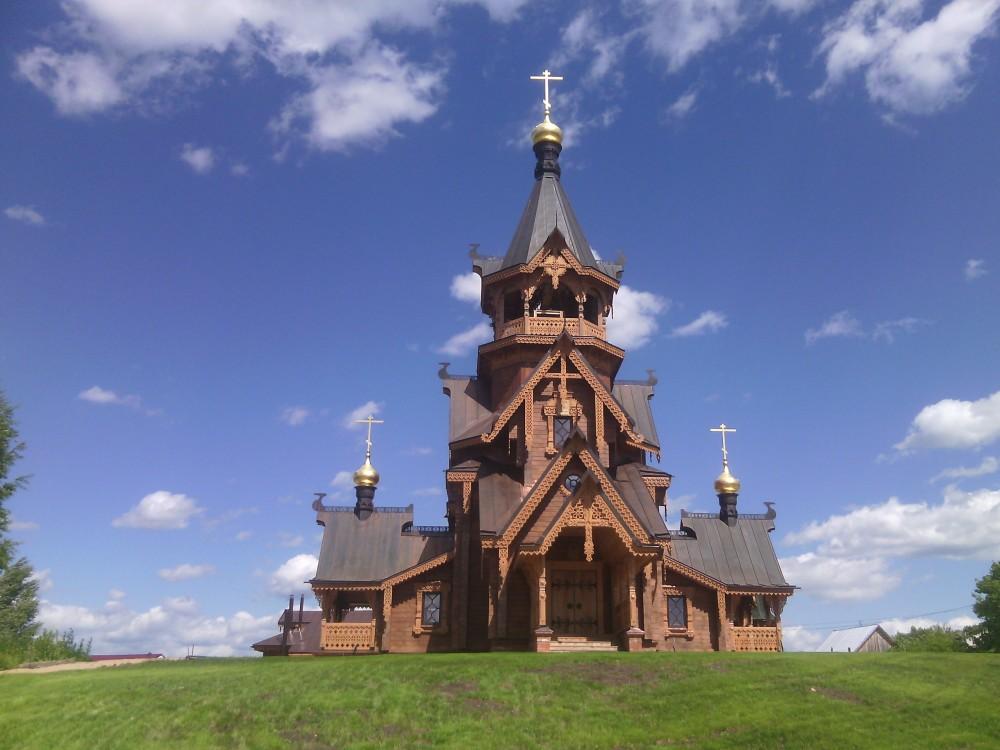 водичку деревянные церкви нижегородской области фото это часто