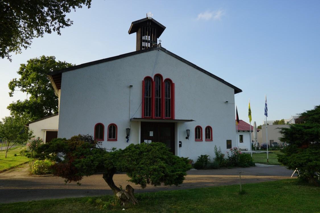 Прочие страны, Германия, Аугсбург. Церковь Пантелеимона Целителя, фотография. фасады