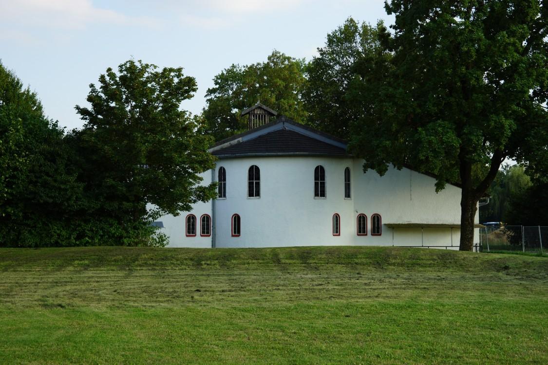 Прочие страны, Германия, Аугсбург. Церковь Пантелеимона Целителя, фотография. общий вид в ландшафте