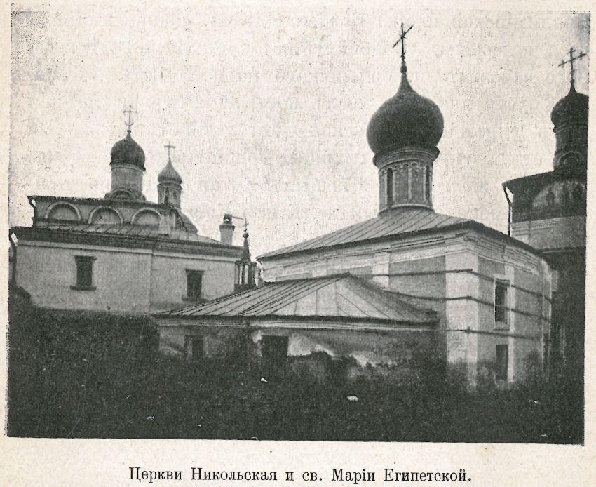 Сретенский монастырь. Церковь Марии Египетской, Москва